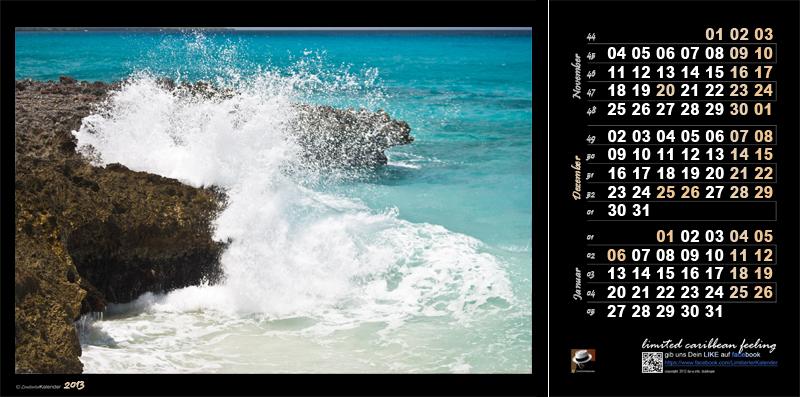 Karibik Kalender 2013
